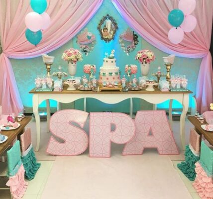 fiesta de spa para niñas