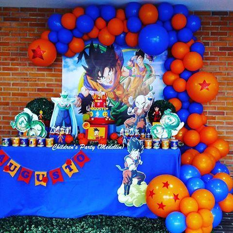 fiesta infantil de dragon ball z