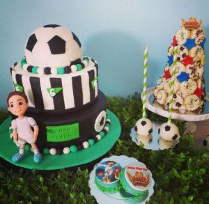 Fiesta temática de futbol