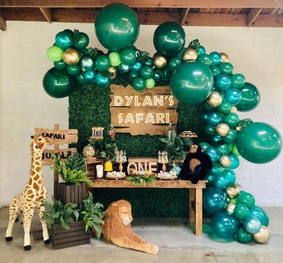 fiesta tematica de safari