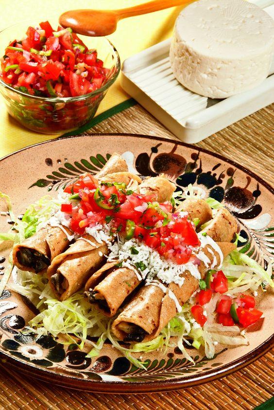 flautas para fiesta mexicana
