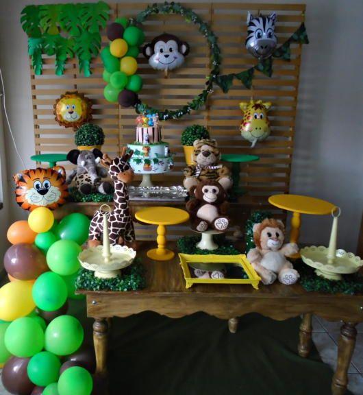 Globos Para Decorar Una Fiesta De Safari Ideas Para Las