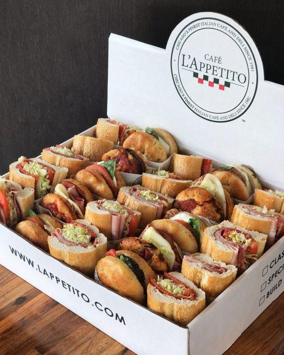 hamburguesas mini para dar en un cumpleaños