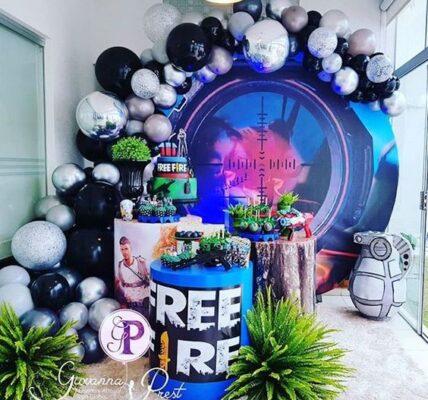 ideas para fiesta de free fire
