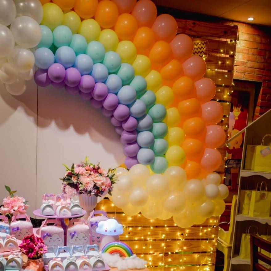 Ideas para fiesta de lluvia de amor - nubesita