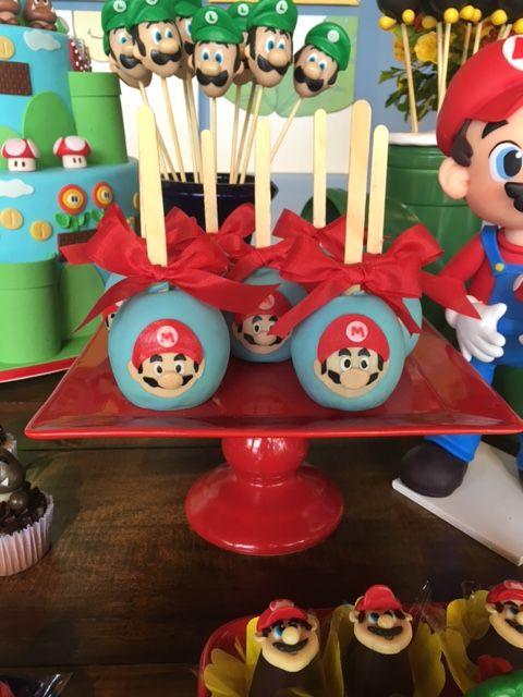 mesa de dulces para fiesta mario bros baby