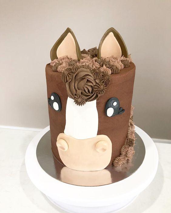 pasteles de caballos para fiestas