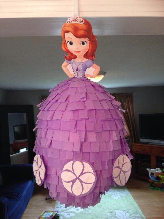 piñatas de princesa sofia