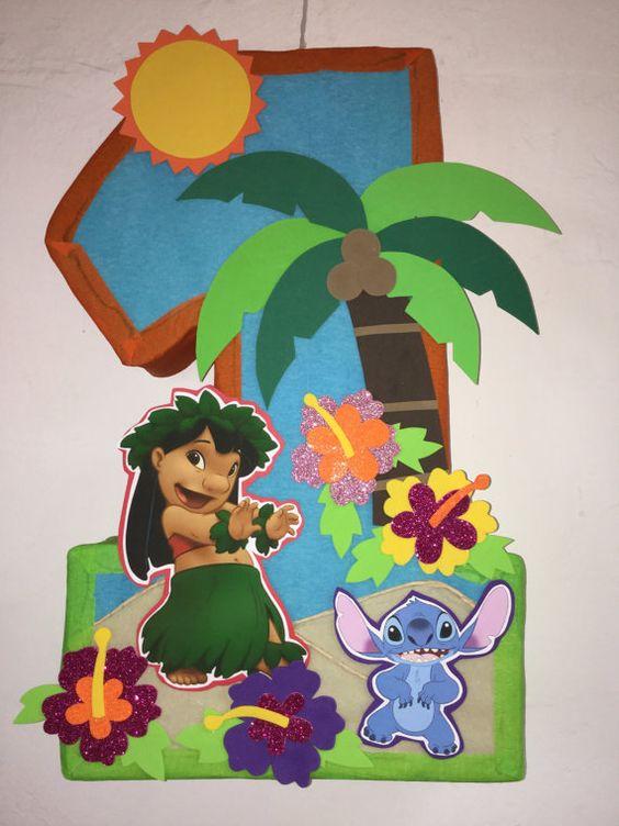 piñatas para cumpleaños de lilo y stich