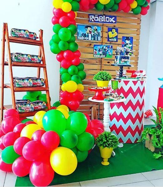 roblox para un cumpleaños de niño