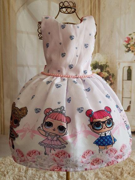 vestido de lol surprise para el outfit de la cumpleañera