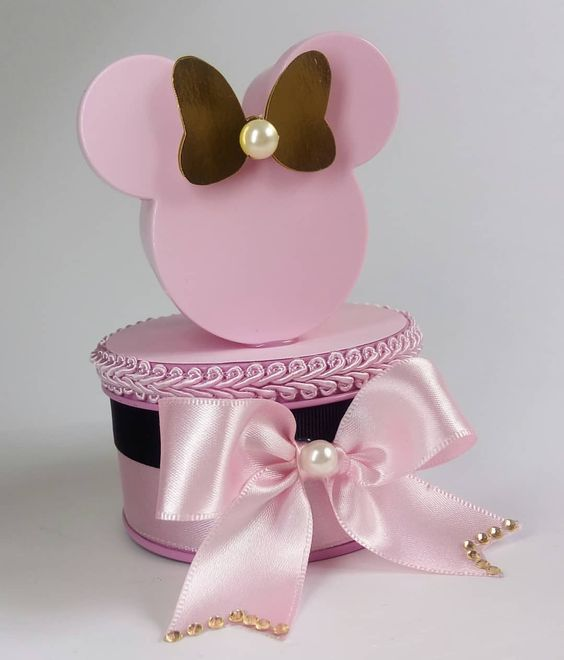 15 diseños de dulceros de minnie mouse