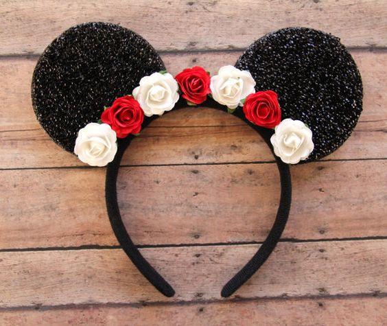 15 estilos de diademas de minnie mouse