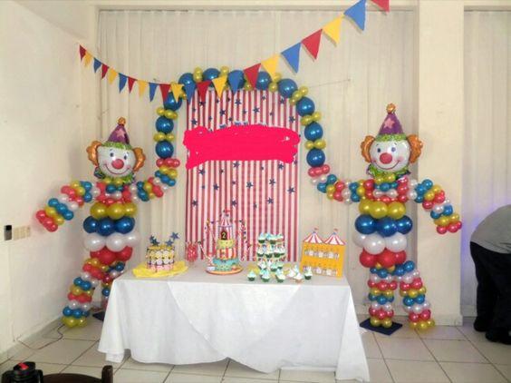 Ideas para fiesta de payasos | Ideas para las fiestas Infantiles ...