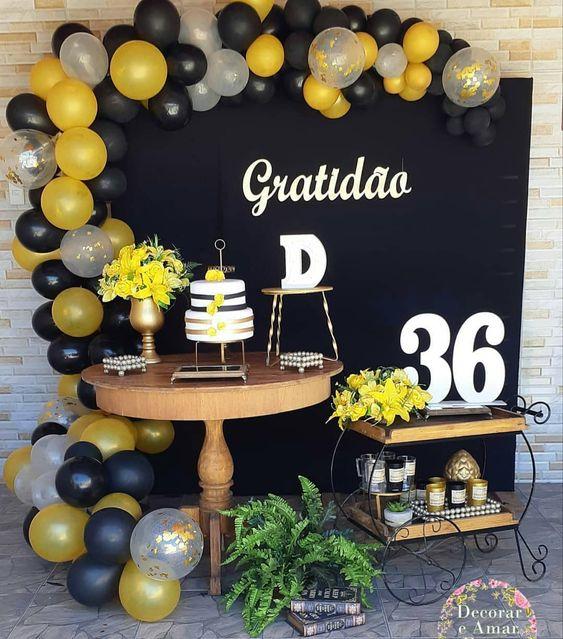 Backdrops para fiesta de 50 años