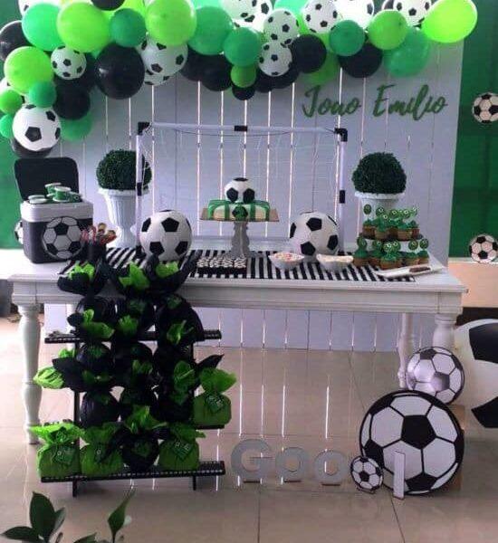 Backdrops para fiesta temática de futbol