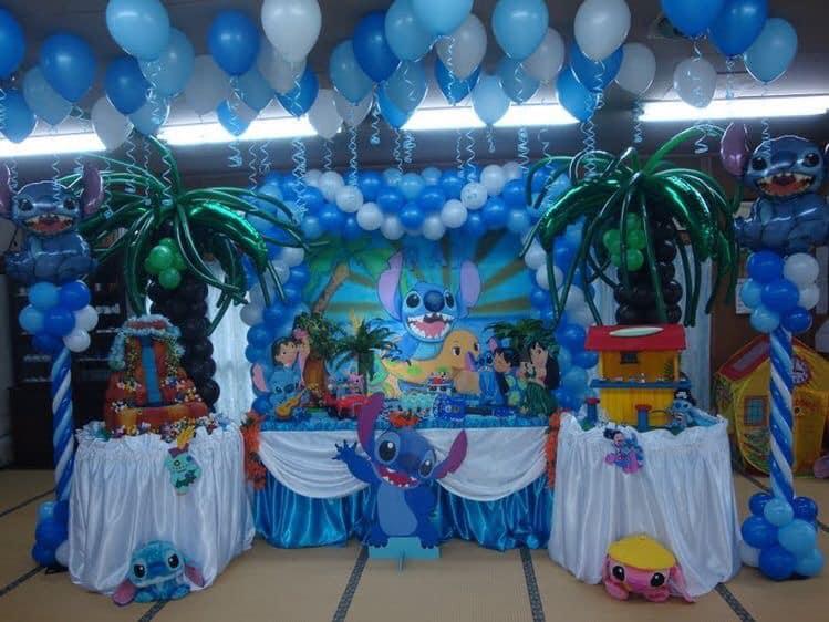 Backdrops para fiesta temática de lilo stich