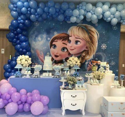 Backdrops para fiestas de frozen