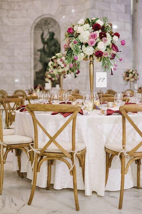 Centros de mesa para fiestas
