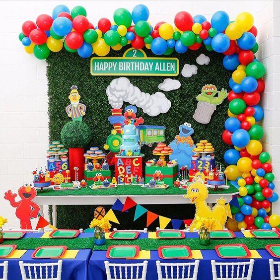 cumpleaños para niño primer aniversario