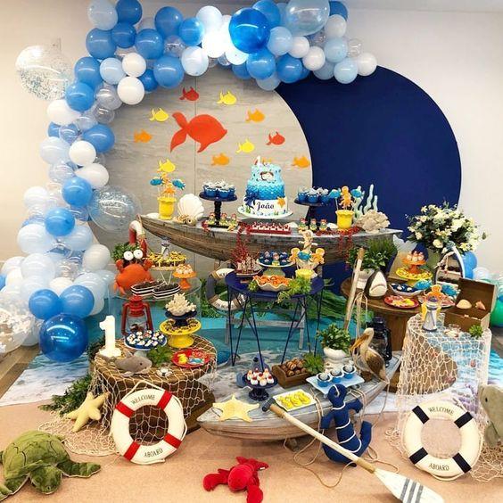 cumpleaños para niños de siete años
