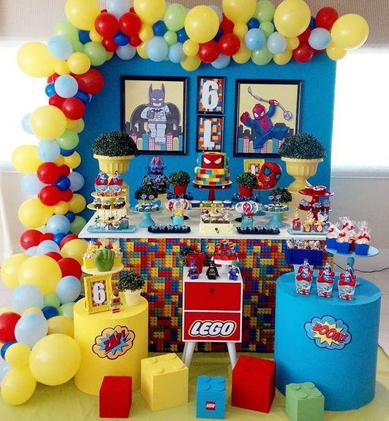 decoracion de fiestas para niños 6 años