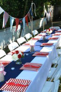 Decoracion para mesa de invitados