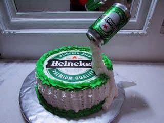Diseño de pasteles para fiesta de hombre