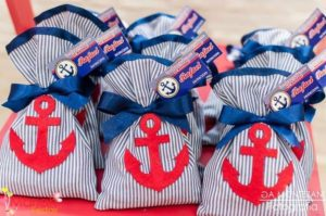 Dulceros para fiesta de marinero