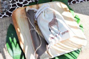 Dulceros para fiesta safari