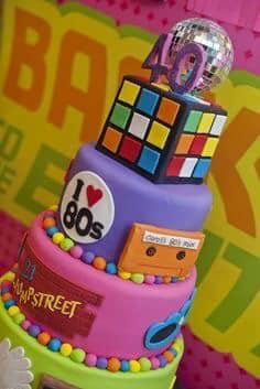 Fiesta temática de los 80 s