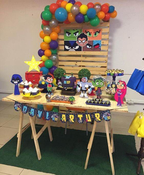 ideas para celebrar cuatro años de niños
