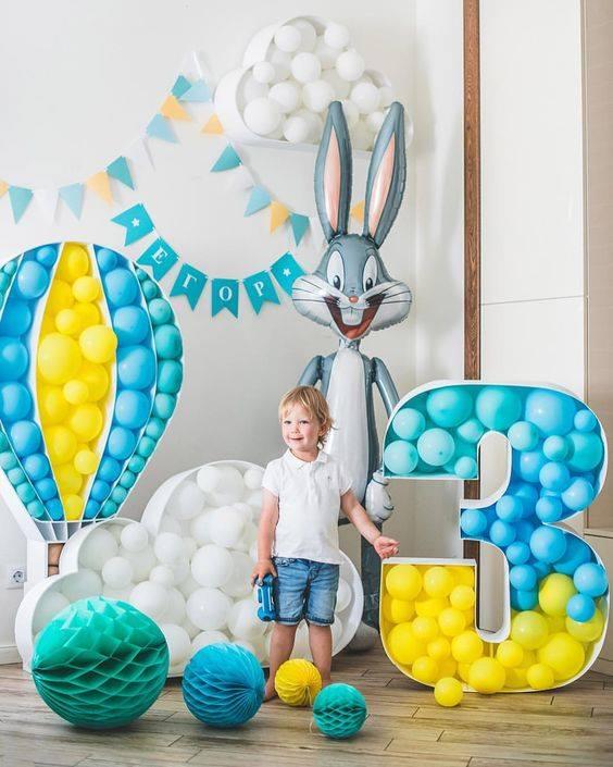 Ideas para decorar fiestas con números