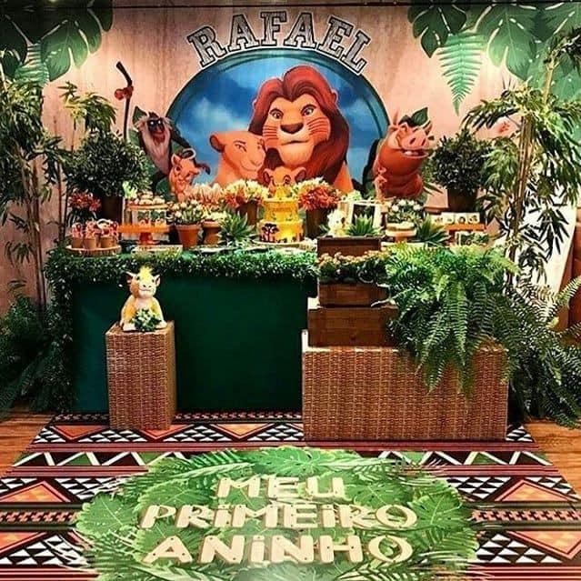 Ideas para fiesta temática del rey león