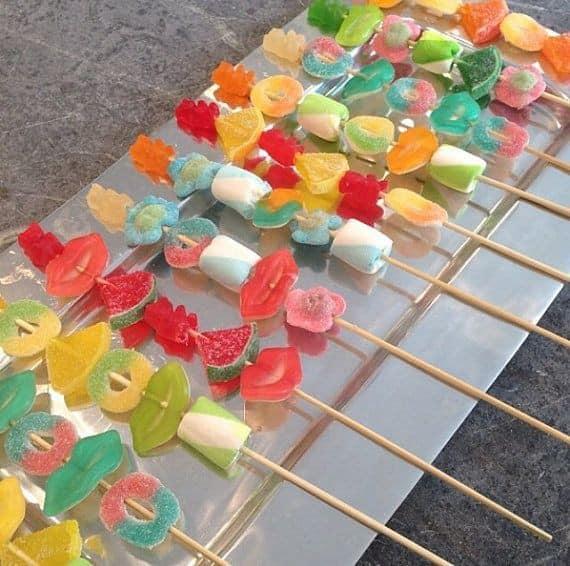 Mas de 30 snaks para tu candy bar