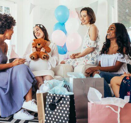orden de actividades en un baby shower