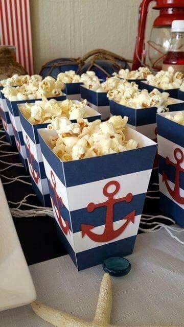 Postres para fiesta de marinero