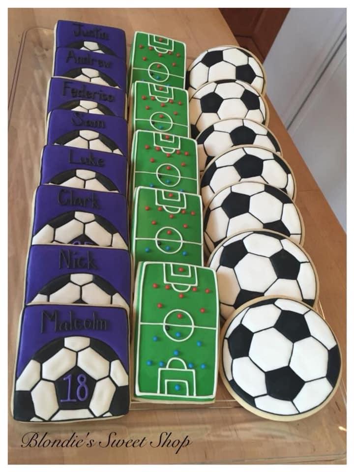 Postres para fiesta infantil de futbol
