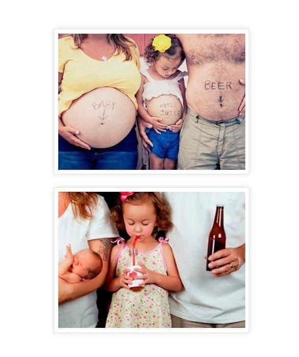 Sesión de fotos de maternidad