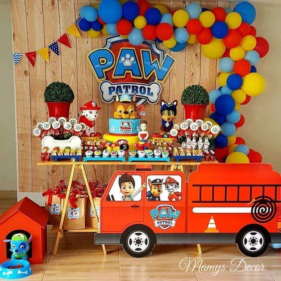 temas de fiestas para niños de cinco años
