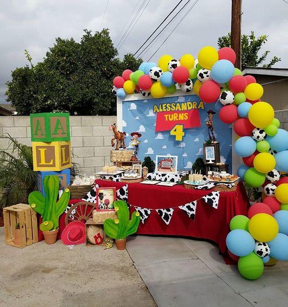 temas para fiestas de niños de dos años