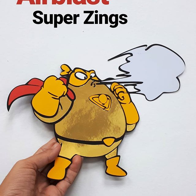 adornos para fiesta de super zings