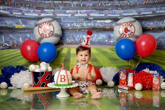 backdrops para fiesta de beisbol