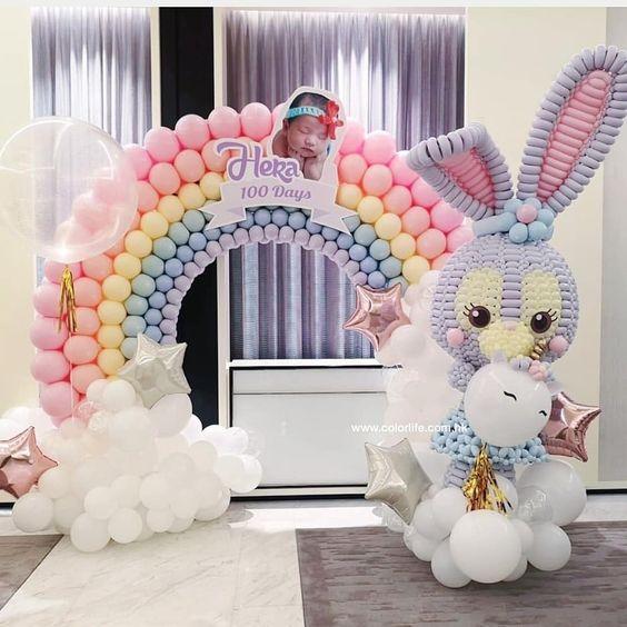 backdrops para fiesta de conejos