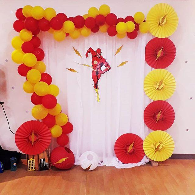 backdrops para fiesta de flash