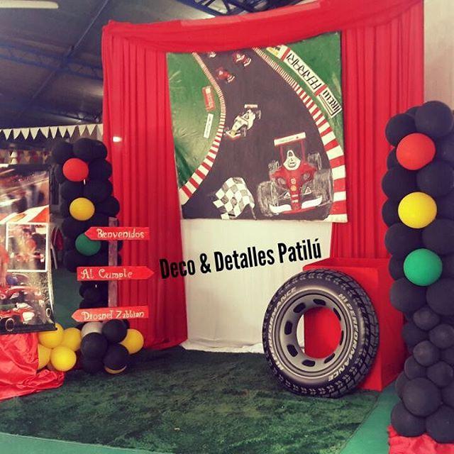 backdrops para fiesta de formula 1