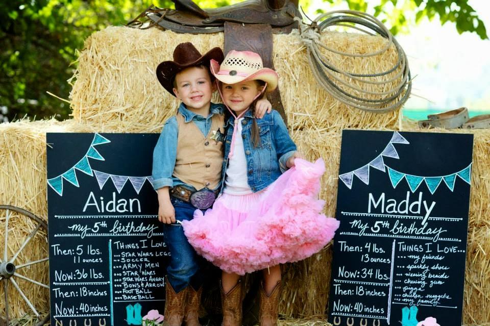 backdrops para fiesta de gemelos