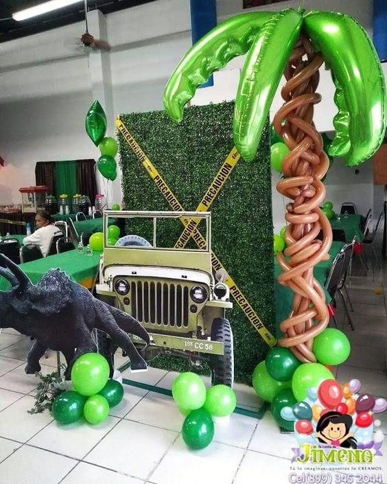 backdrops para fiesta de jurassic world dinosaurios
