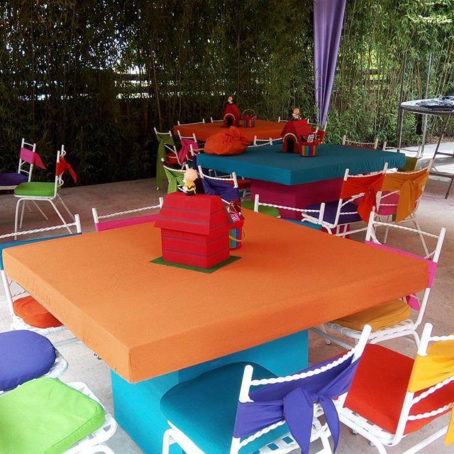 centros de mesa para un cumpleaños de snoopy