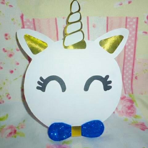 centros de mesa para un cumpleaños de unicornio de niño